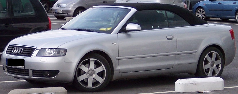 File Audi A4 Coupe Silver Vl Jpg Wikimedia Commons