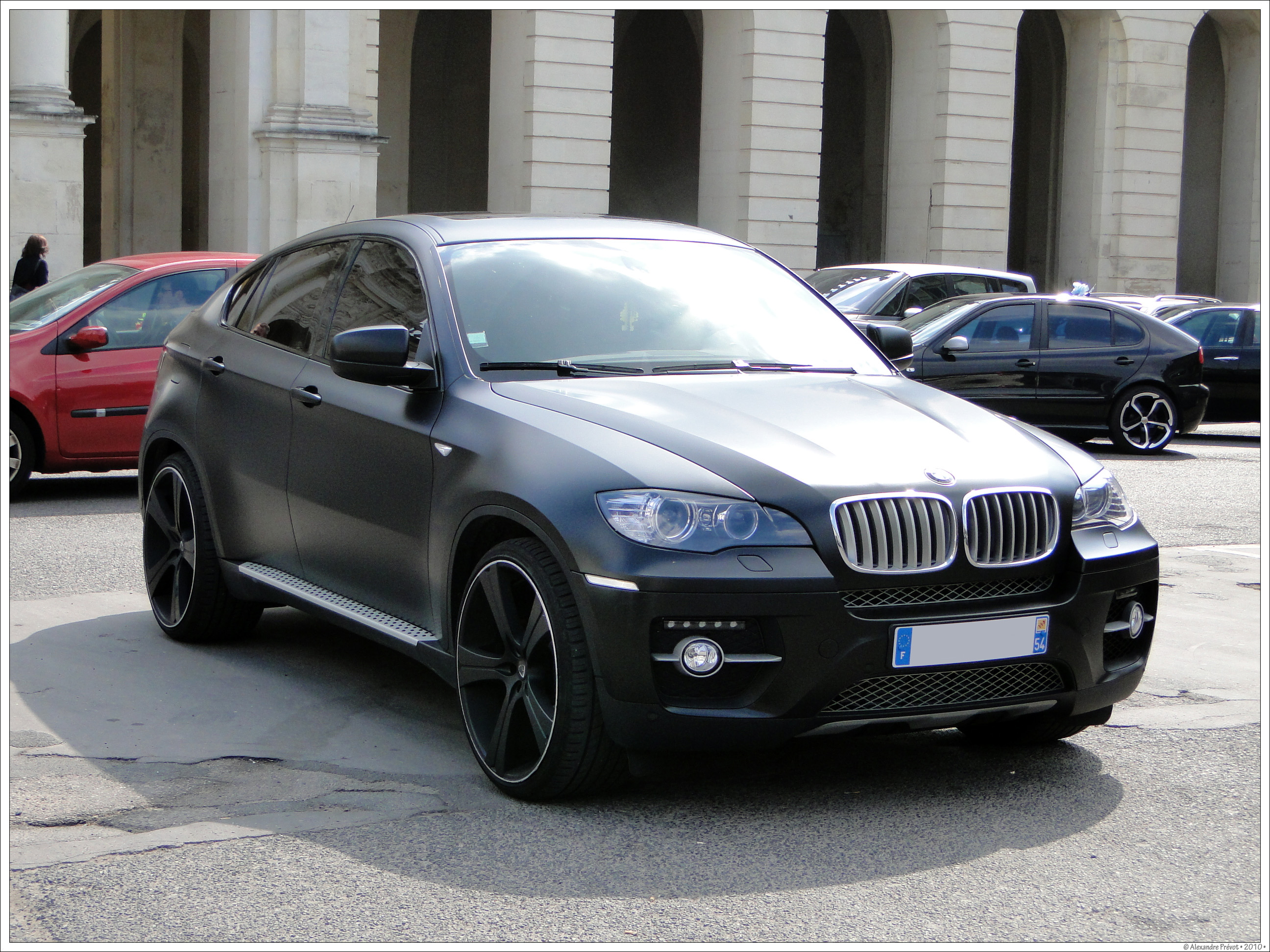 File Bmw X6 Full Black Flickr Alexandre Pr 233 Vot Jpg Wikimedia Commons