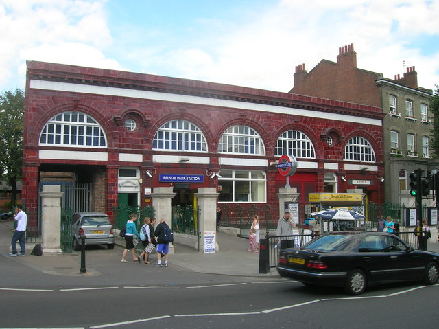 Belsize Park Tube Station