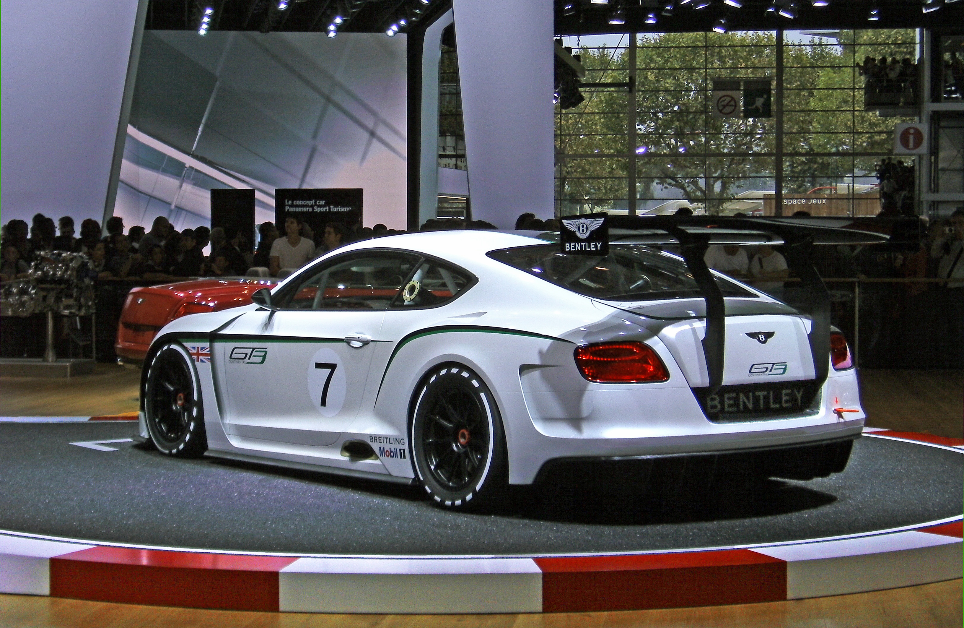 File:Bentley Continental GT3   Rear Paris Motor Show 2012 01.JPG