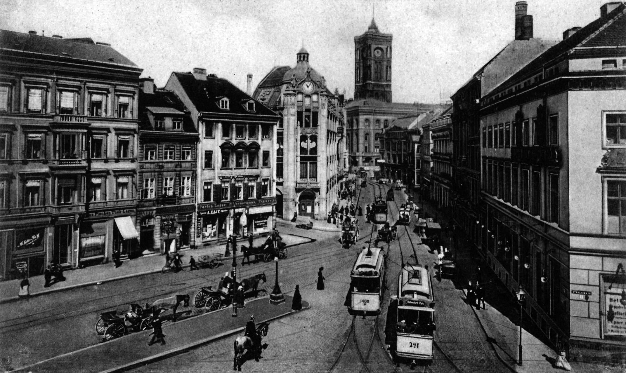 Berlin, Molkenmarkt, 1902 Bilder, Berlin, Berlin geschichte