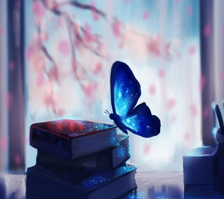 Fileblue Butterfly Wallpaper 10553641jpg Wikimedia Commons