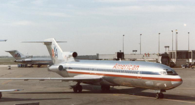 Boeing 727-223 of American Airlines Chicago O'Hare