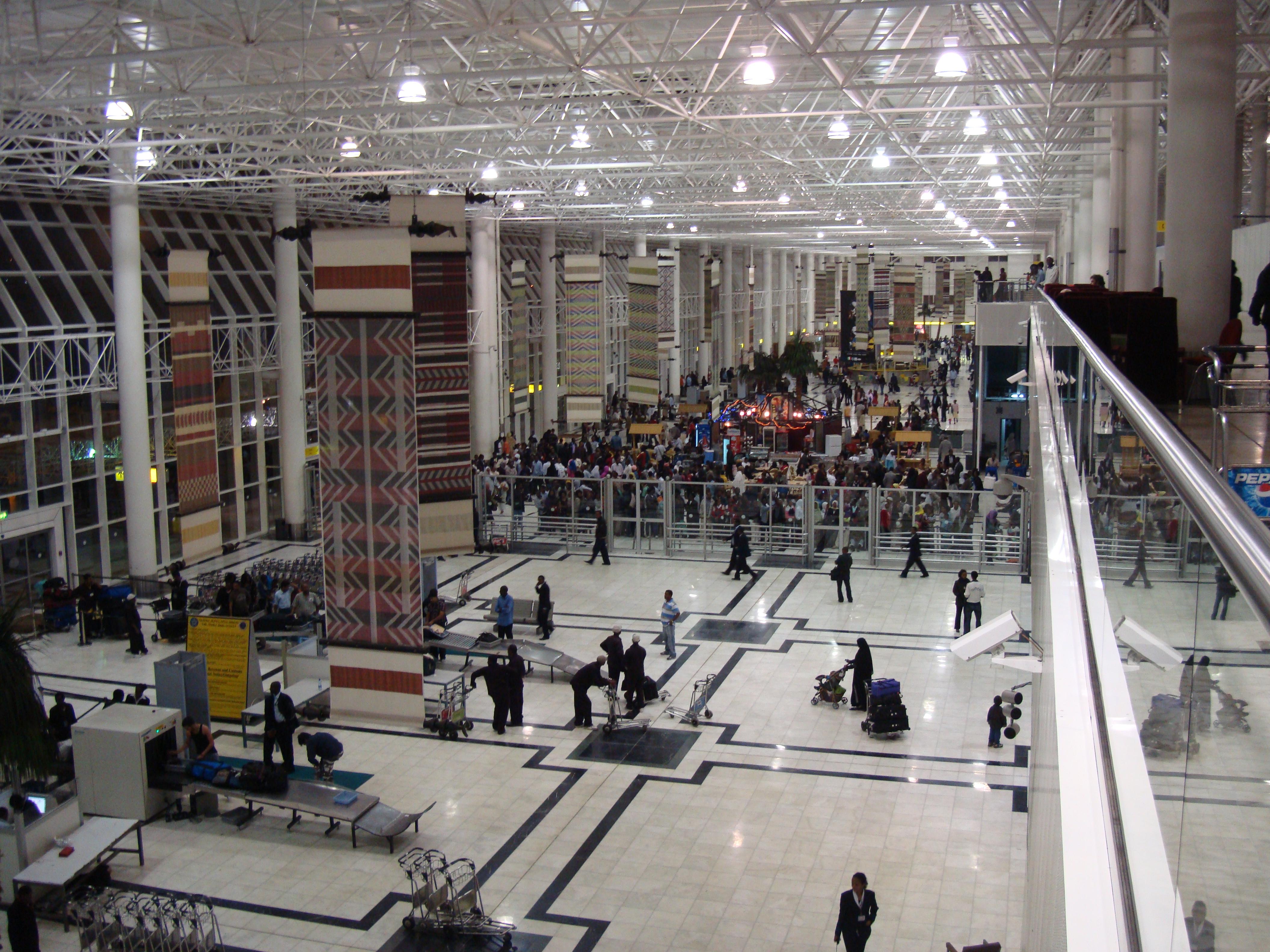 Aeroporto Etiopia : Addis ababa bole international airport in