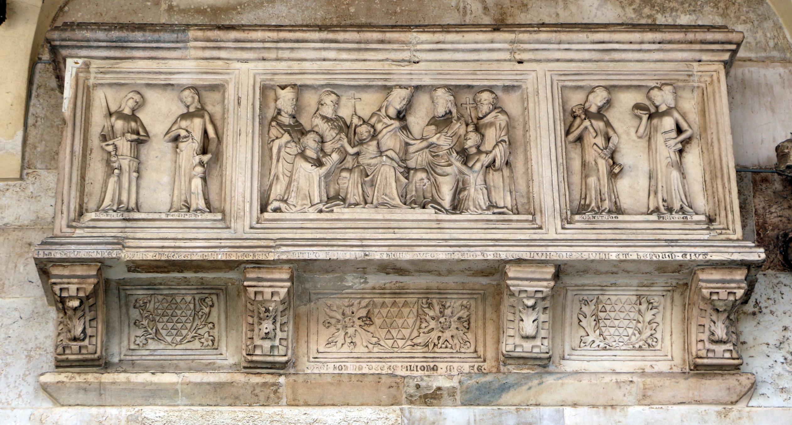 File:Bonino da campione, sarcofago di folchino schizzi, m. 1357.jpg