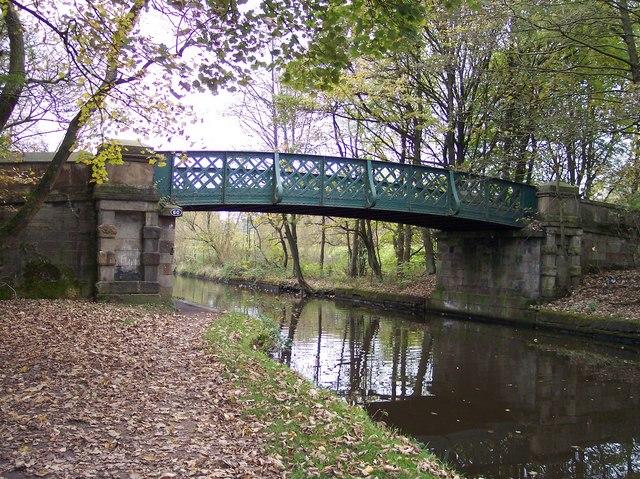 Bridge over Leeds Liverpool canal - geograph.org.uk - 1034675