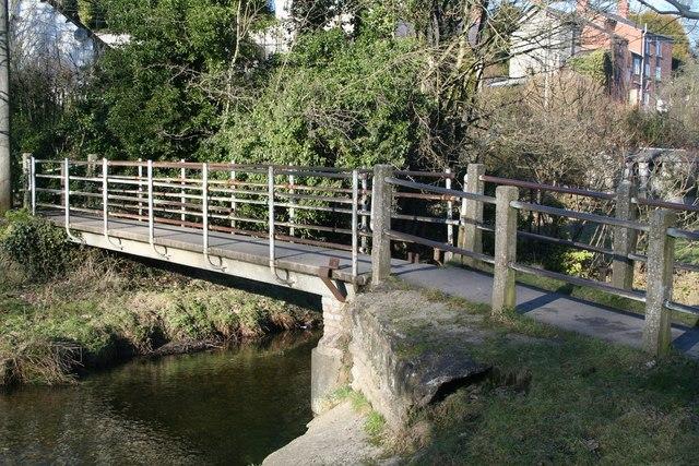 Bridge over the Clywedog - geograph.org.uk - 1704188