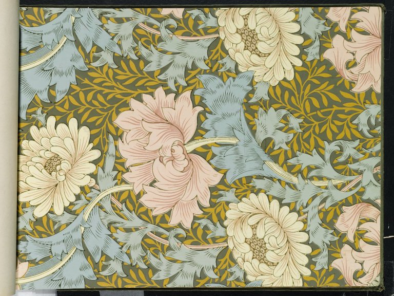 File:Brooklyn Museum  Wallpaper Sample Book 1  William Morris and Company  page093.jpg