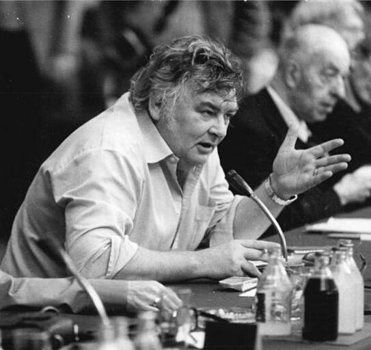 Erik Neutsch (centre) with [[:de:Jürgen Kuczynski Jürgen Kuczynski]] (1981)