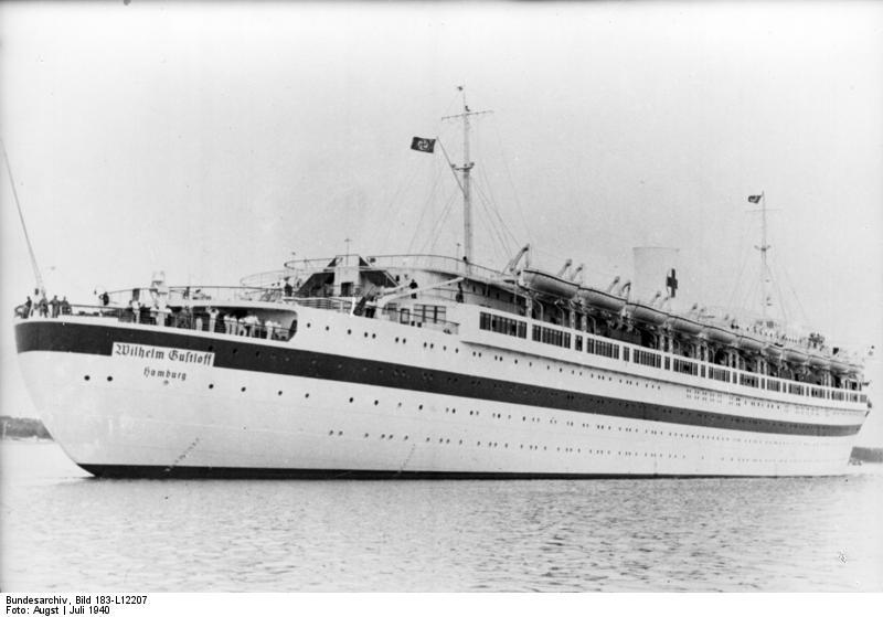 """Bundesarchiv Bild 183-L12207, Lazarettschiff """"Wilhelm Gustloff"""""""