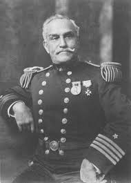 George Colvocoresses, enslaved during the Chios massacre he would after his freedom from slavery emigrate to the United States and become a US Naval Officer; commanded the USS Saratoga during the American Civil War