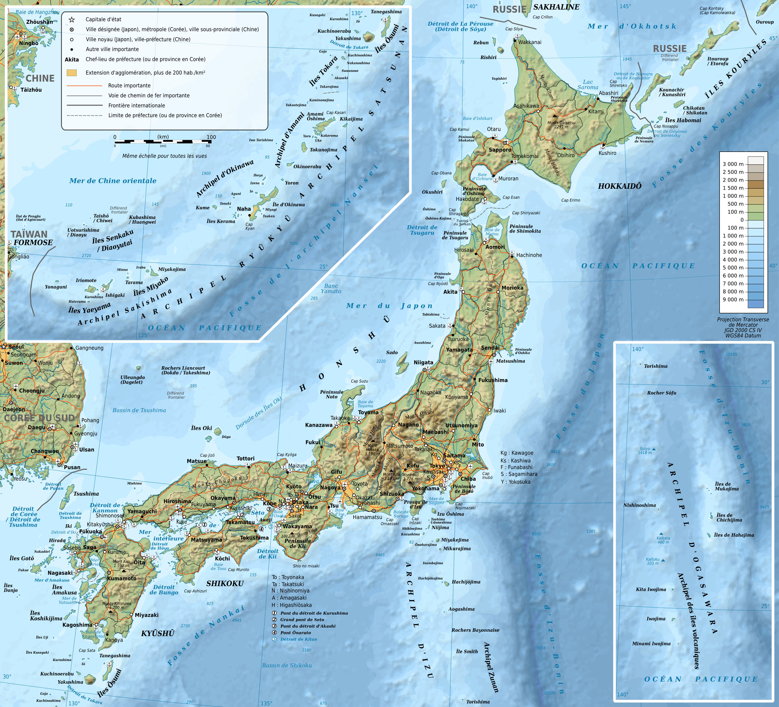 Liste Ville Japonaise