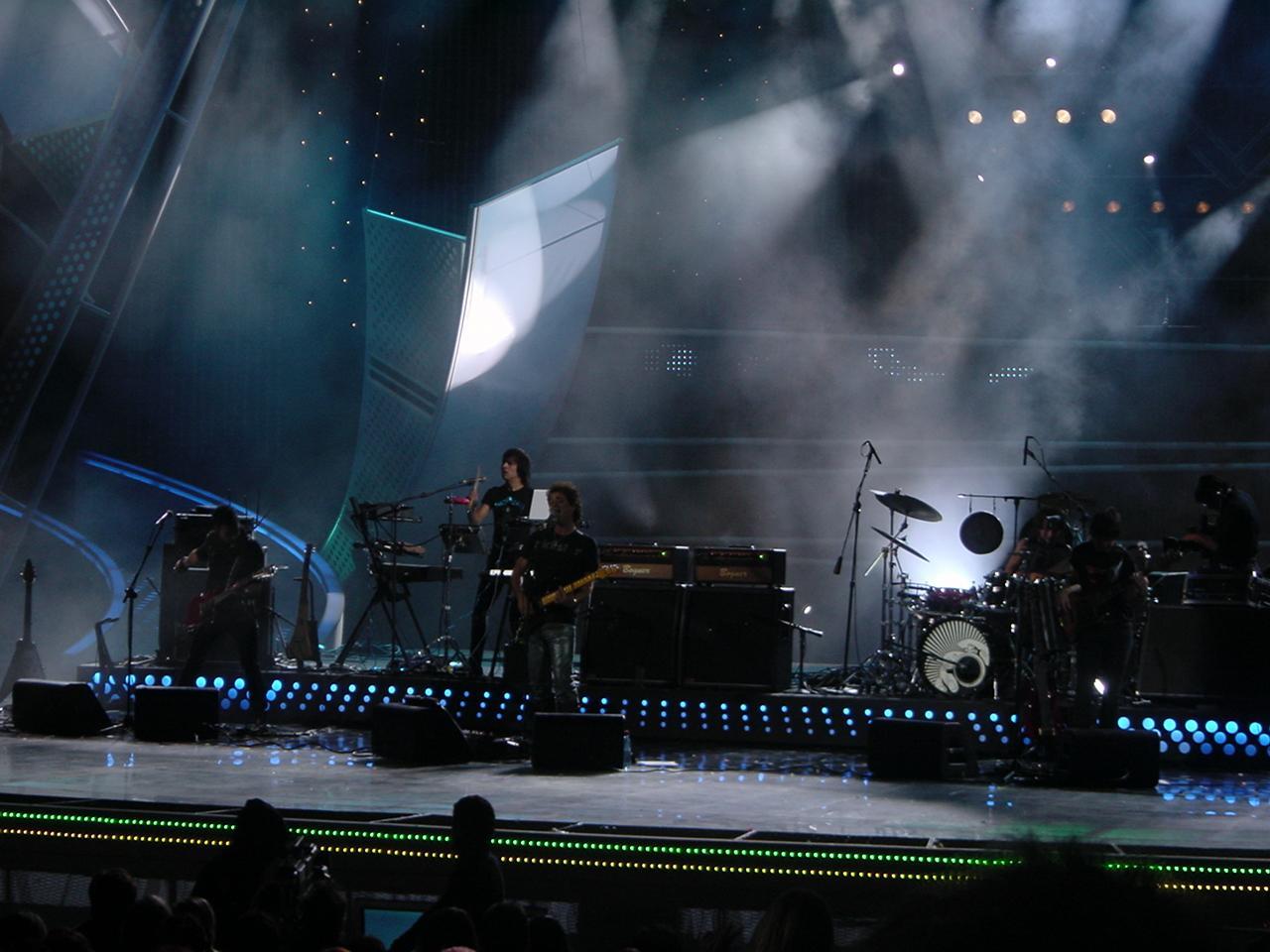 Gustavo Cerati en su presentación en el Festival de Viña 2007.