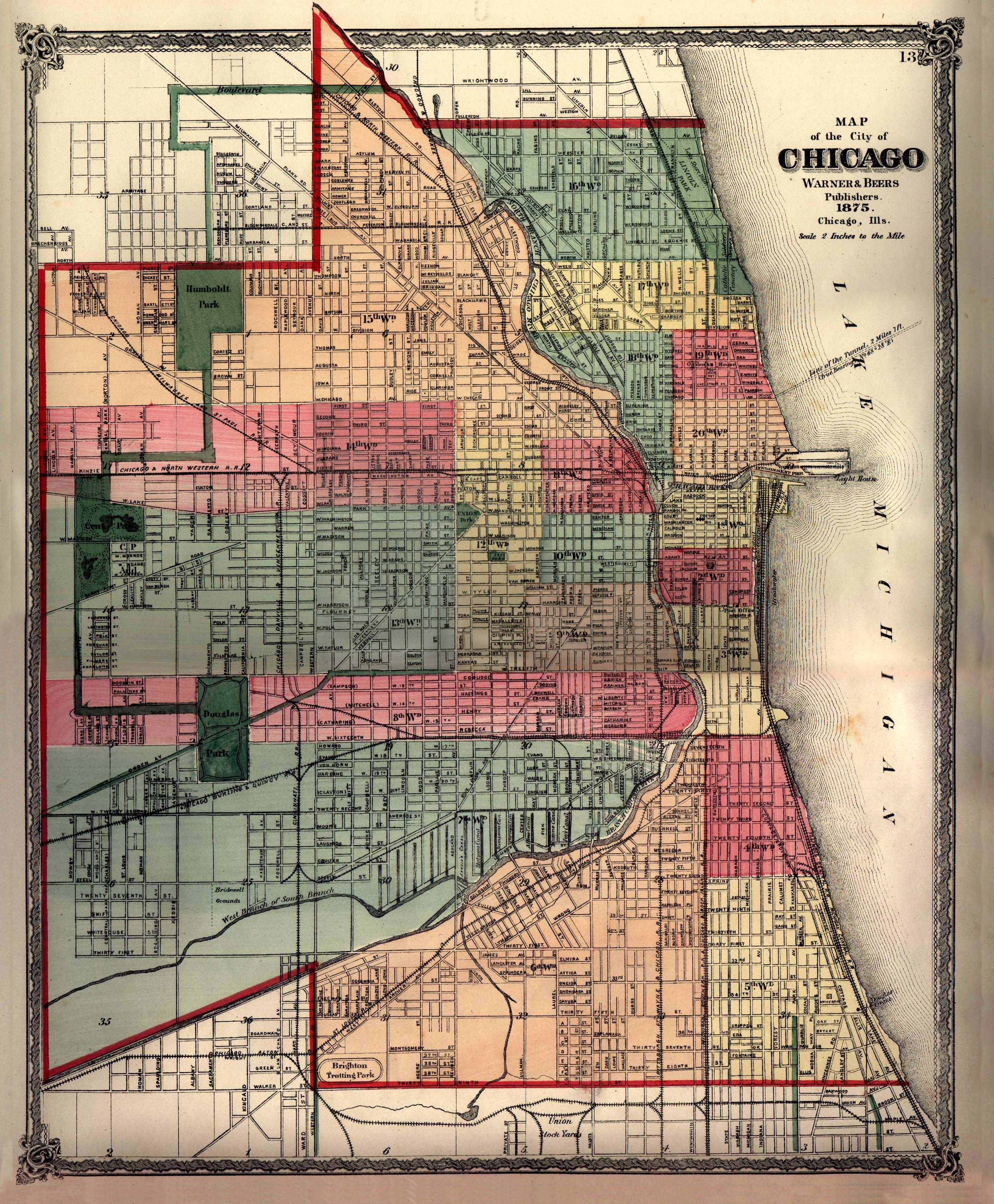 FileChicagowarnerbeersjpg Wikimedia Commons - Chicago il map neighborhoods