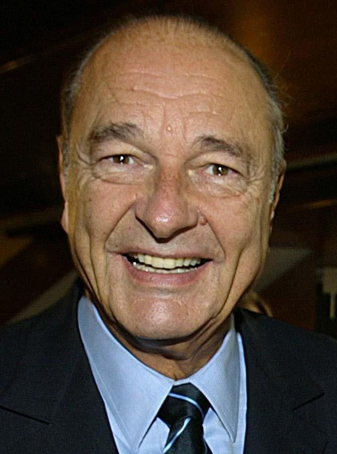Jacques Chirac, en septembre 2004.