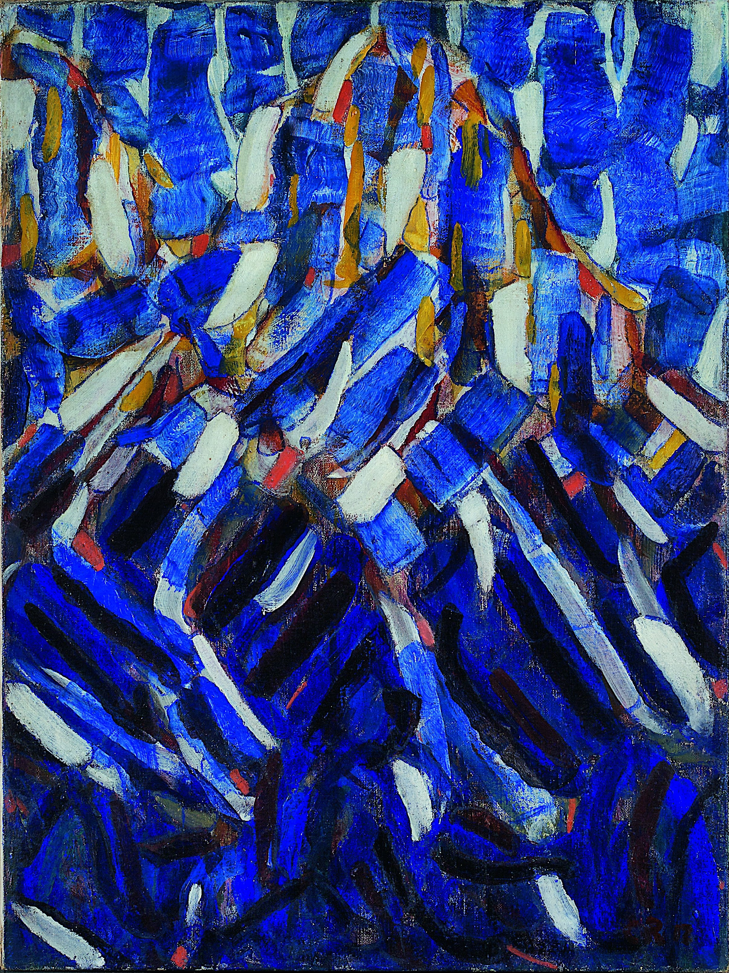 file christian rohlfs abstraction the blue mountain google art