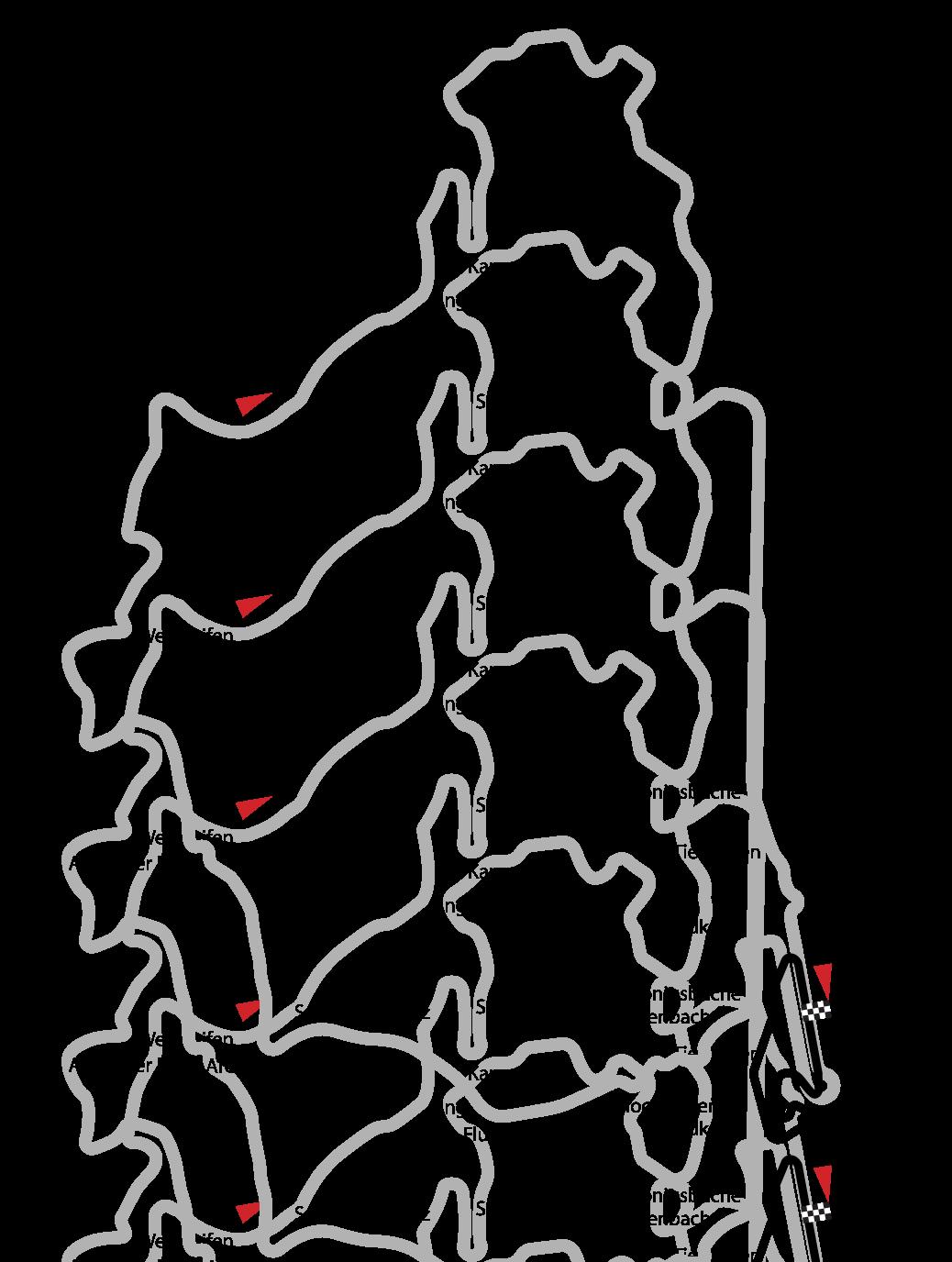 ニュルブルクリンク コース図
