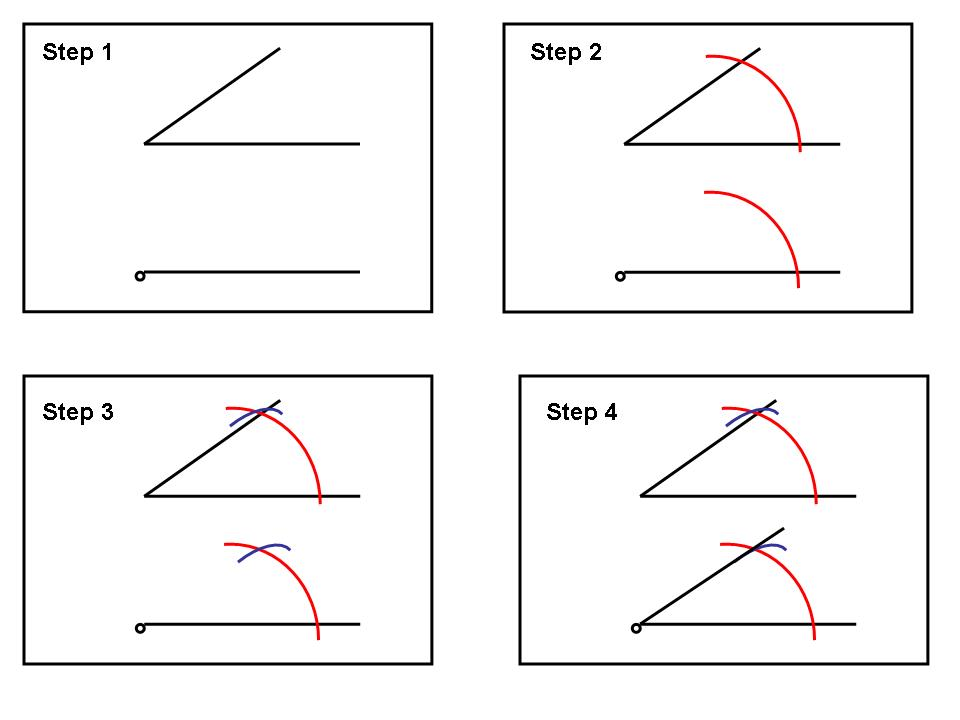 Drawing Parallel Lines With Compass : Geometry chapter wikibooks open books for an world