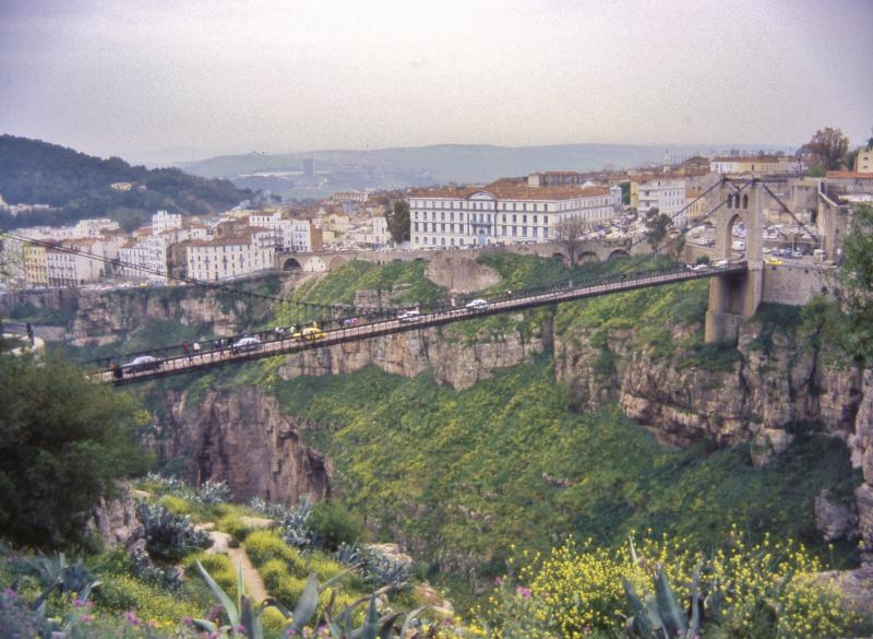 Constantine Algeria  city photos : Description Constantine, Algeria, Bridge 3