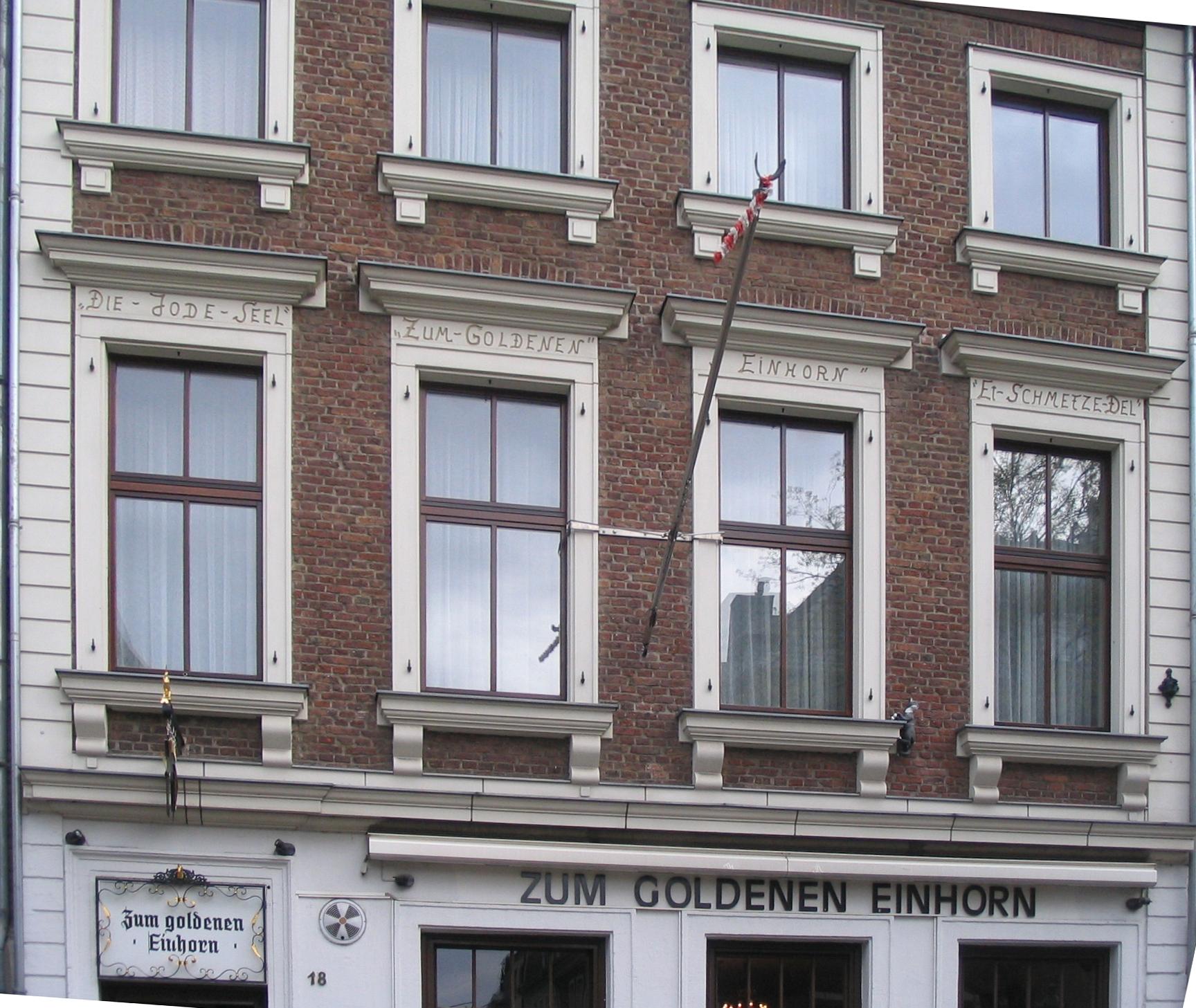 Einhorn Düsseldorf file düsseldorf ratinger straße 18 2012 3 jpg wikimedia commons