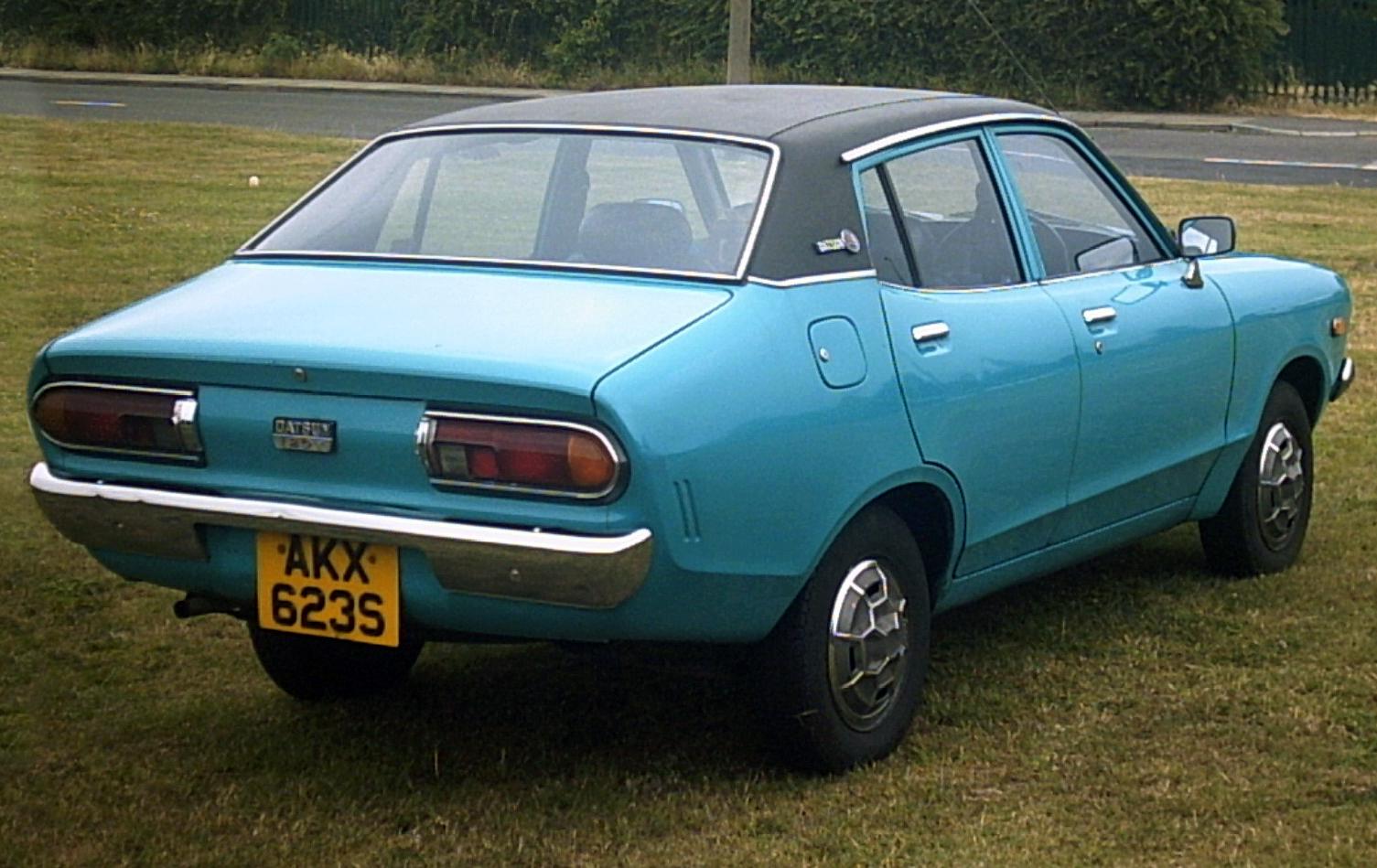 Datsun Drag Car Electric