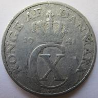 2 øre (World War II Danish coin) Coin made during the German occupation of Denmark