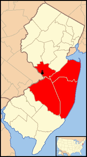 FileDiocese of Trenton map 1png Wikimedia Commons