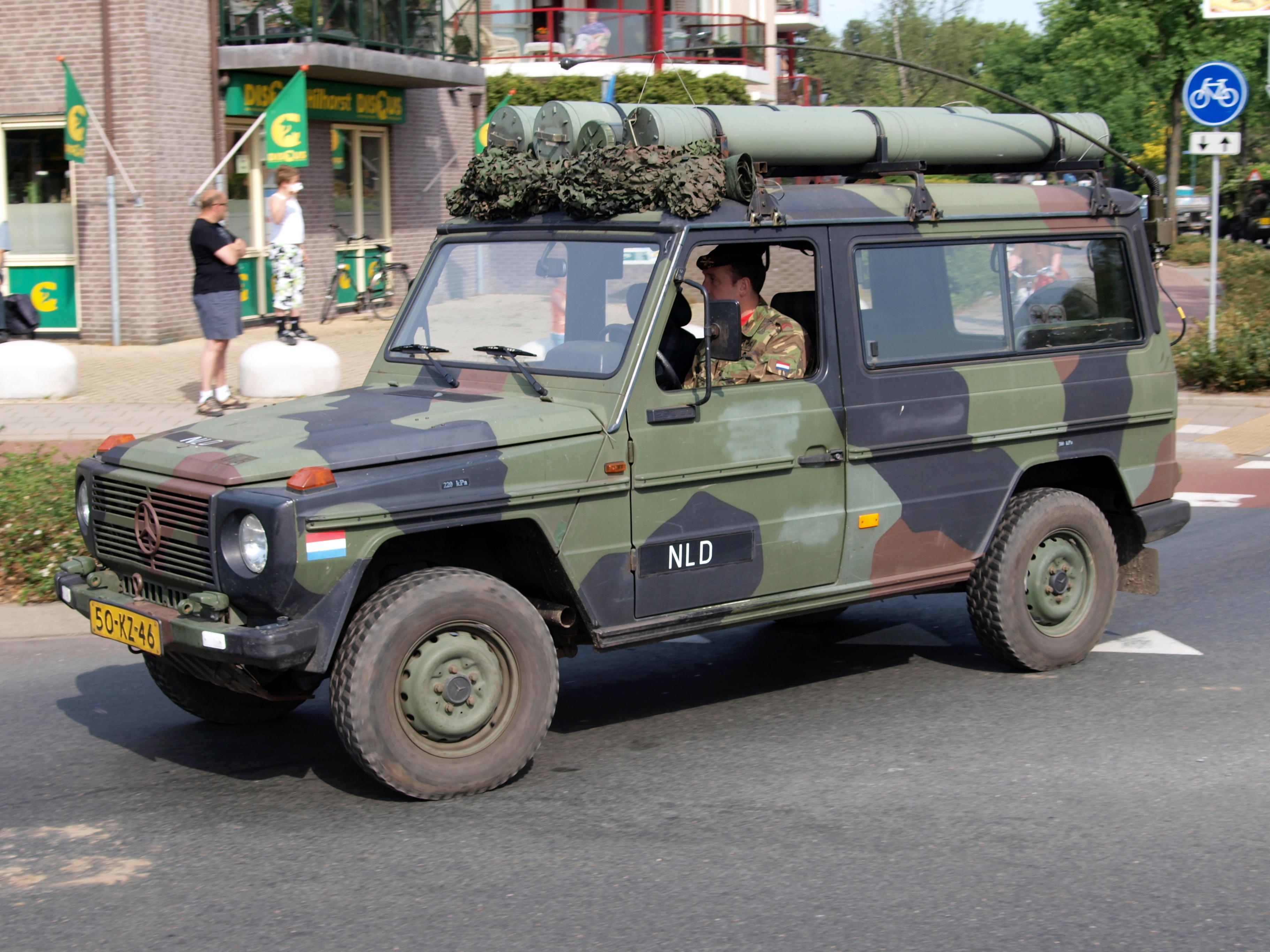 File Dutch Army Mercedes Benz Mb 290 Gd Bridgehead 2011