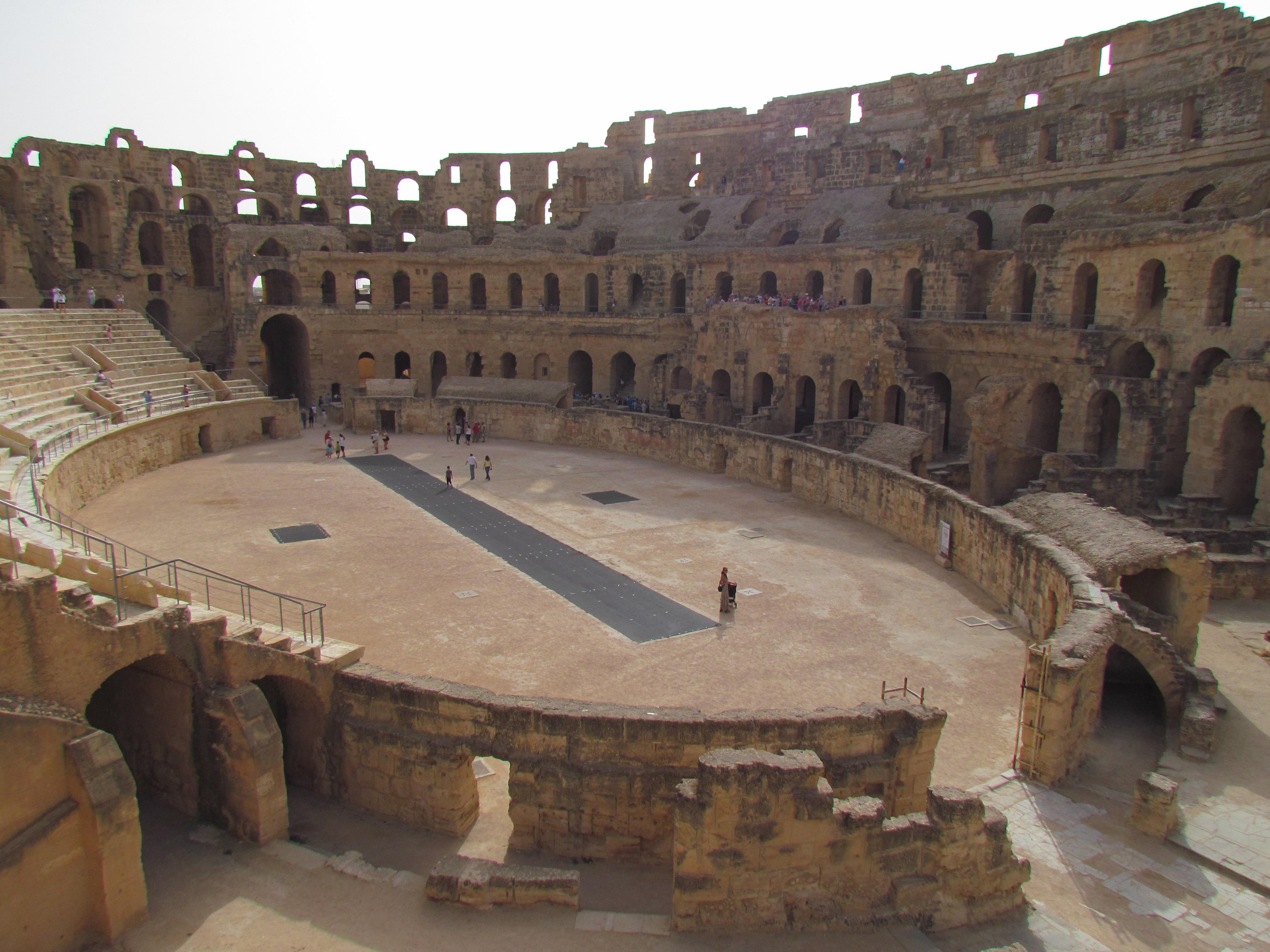 Gladiator Ring In Rome