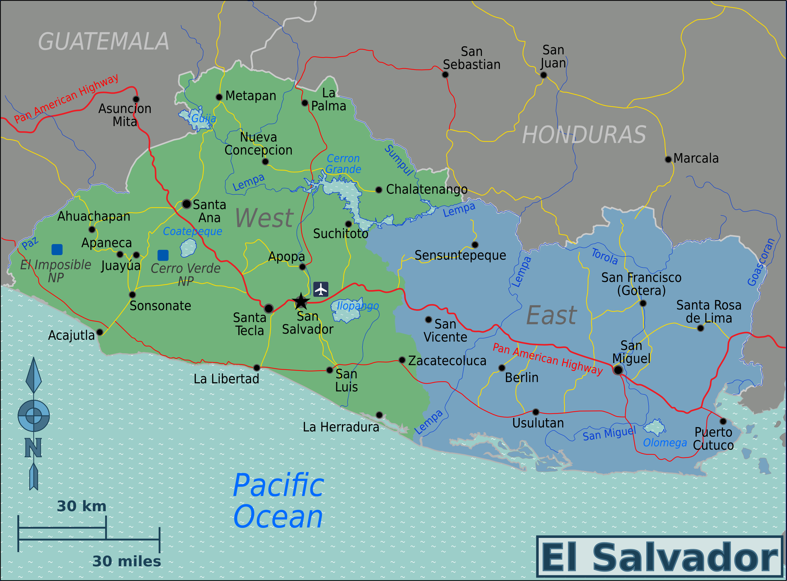 File:El Salvador Regions map.png - Wikimedia Commons on uruguay map, bage map, lima map, brazil map, nicaragua map, kusti map, the landing map, buenos aires map, costa rica map, taiohae map, sert map, mexico map, honduras map, peruana map, central america map, santiago map, passo fundo map, caracas map, south america map, world map,