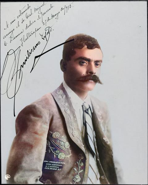el plan de Ayala (25 11 1911) dans c'était mieux avant Emiliano_Zapata