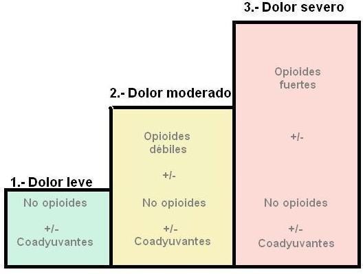 escalera analgesica oms: