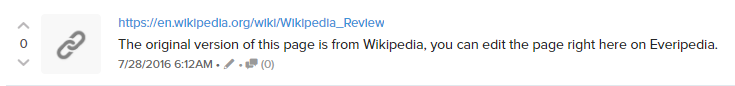 Everipedia believed this to be attribution. The rest of the world did not.