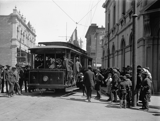 How To Make An Electric Motor >> Trams in Fremantle - Wikipedia