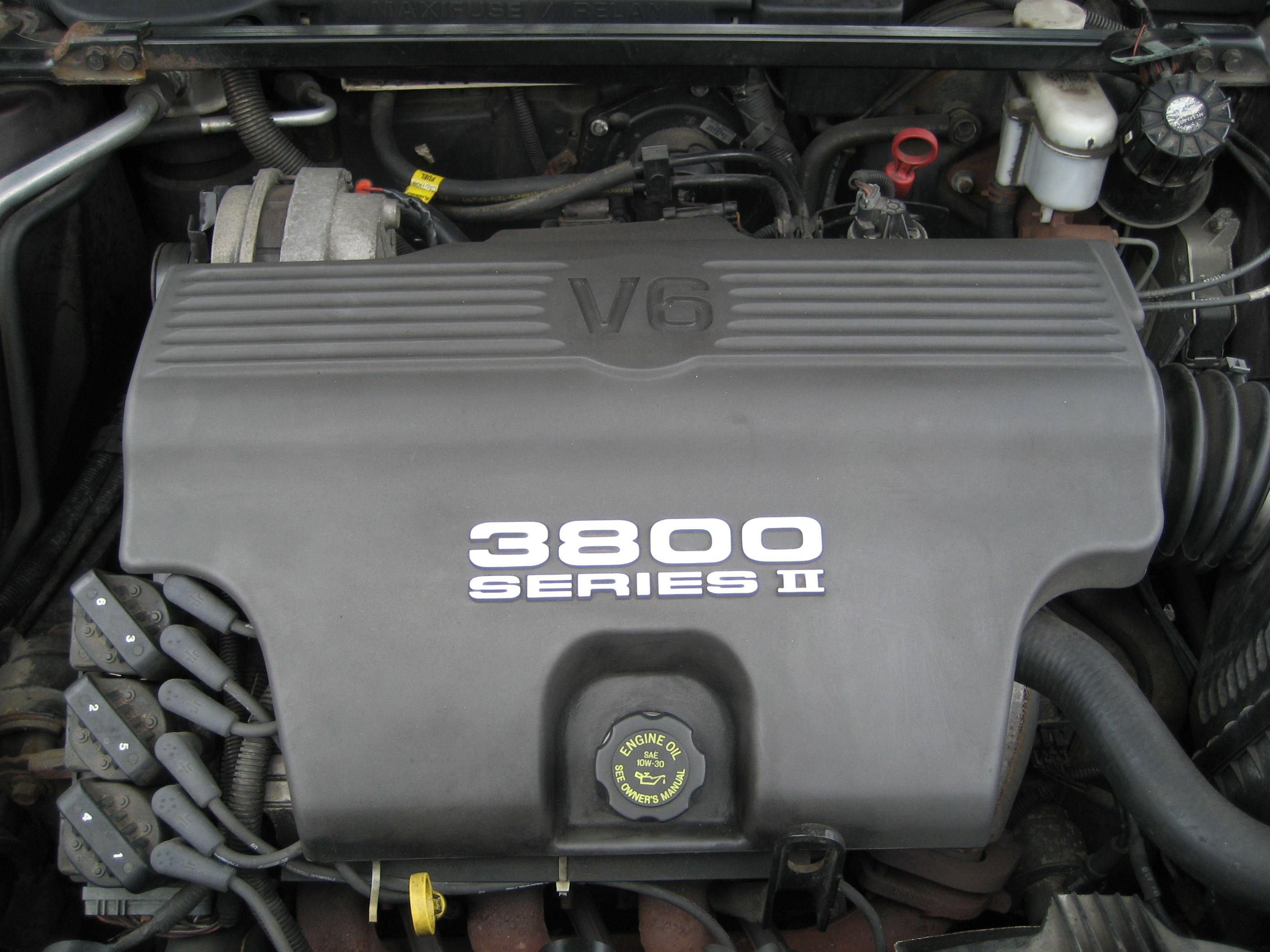 3800 Series 2 Engine Parts http://en.wikipedia.org/wiki/File:GM_3800_Series_Naturally_Aspirated.jpg