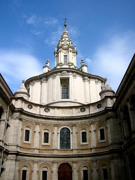 Sant'Ivo alla Sapienza. Fuente: Wikipedia