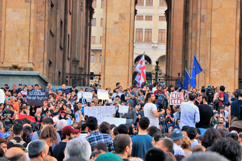Georgia Current Events 2020.2019 Georgian Protests Wikipedia