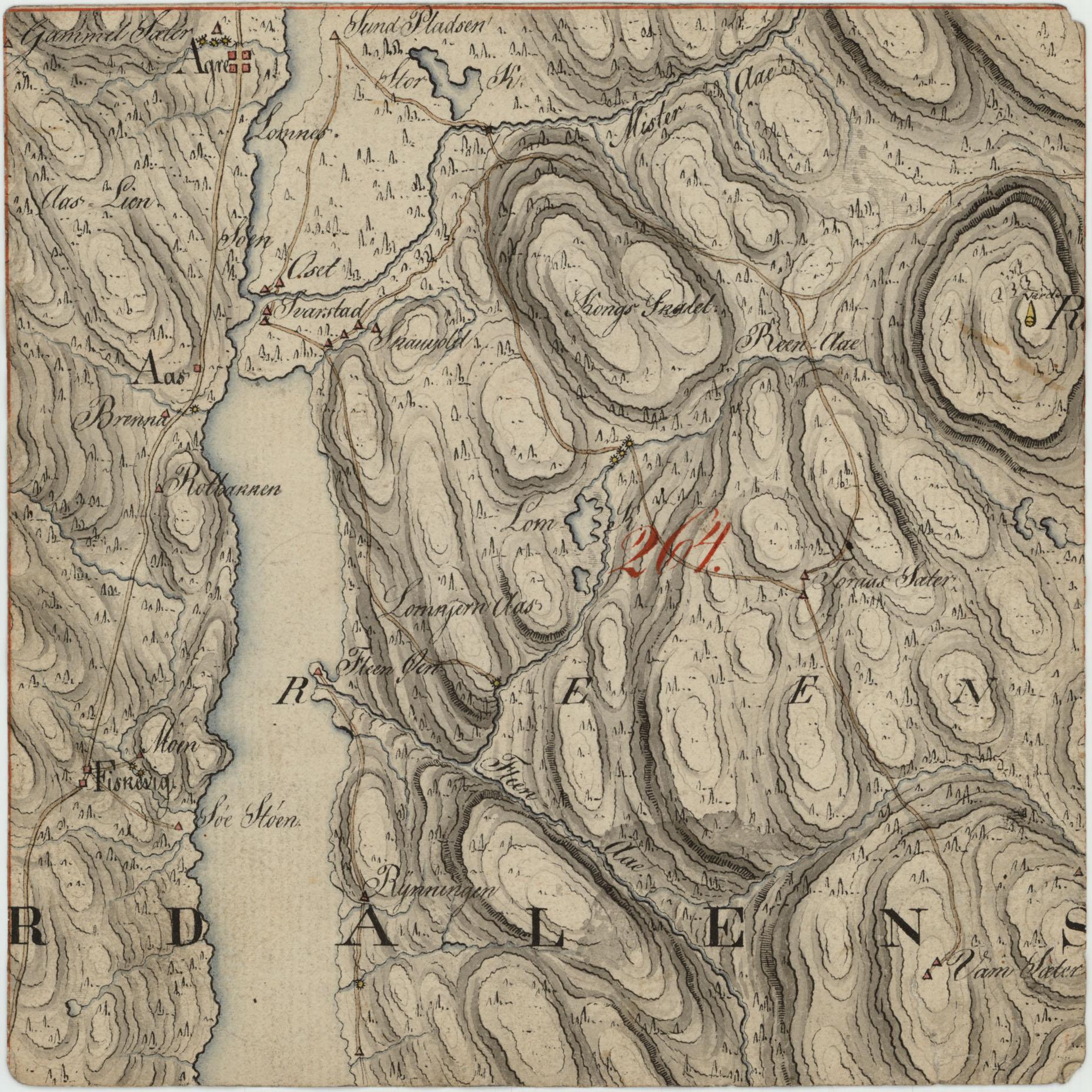 ut kart File:Hedmarkens amt nr 26  Kart over en Deel af Yttre Rendalen Hdt  ut kart