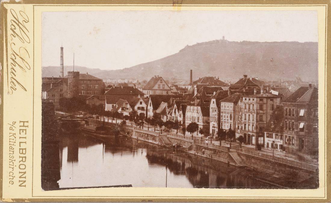 Fileheilbronn Untere Neckarstrasse Um 1900 Heinrich Schulerjpg