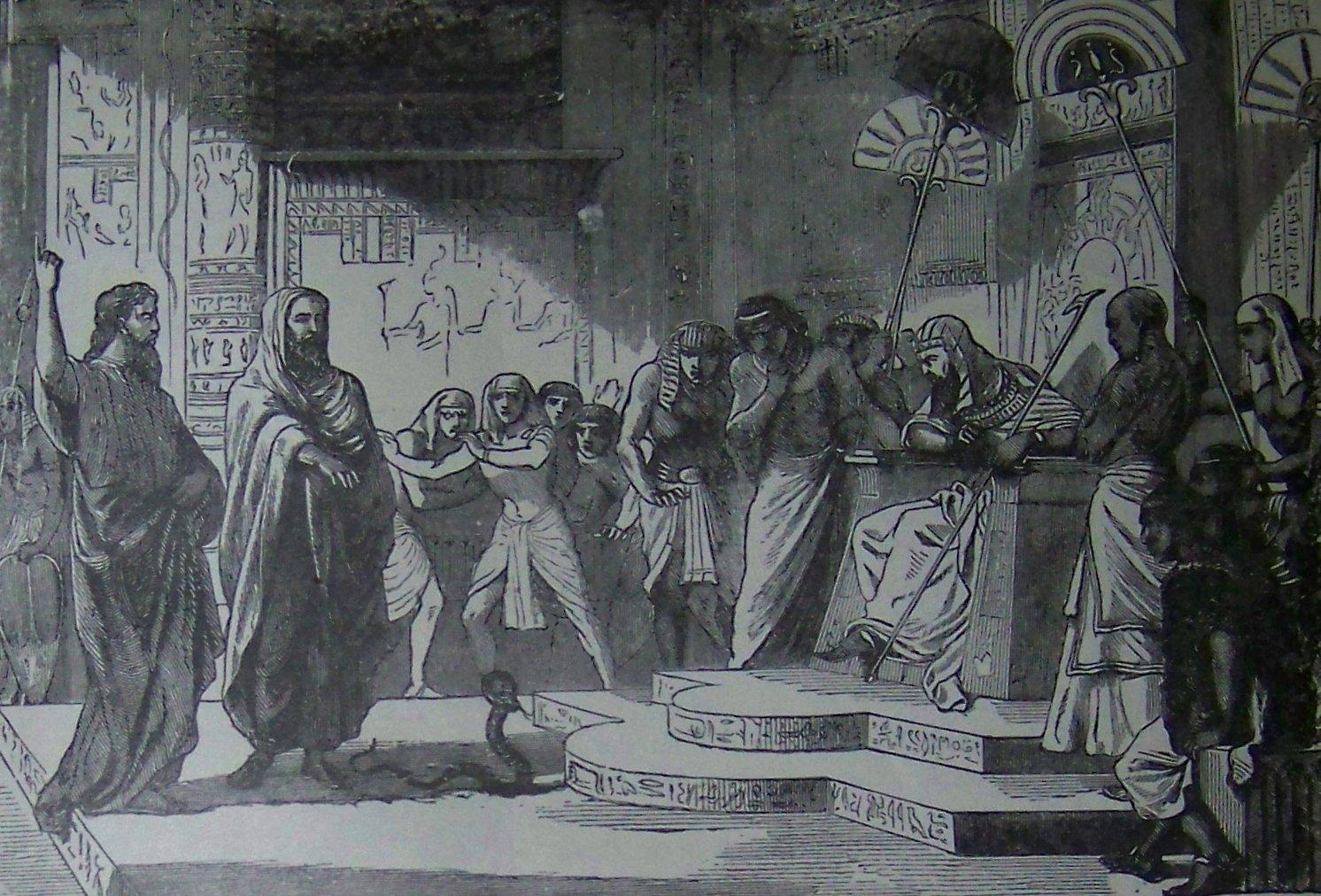 משה ניגש אל פרעה