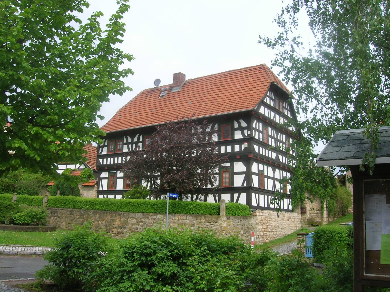 File Holzhausen Fachwerkhaus Jpg Wikimedia Commons