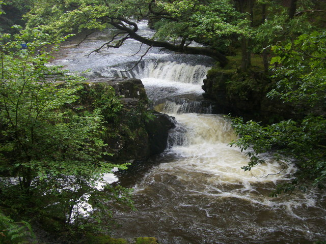 Horseshoe Falls - geograph.org.uk - 1657457