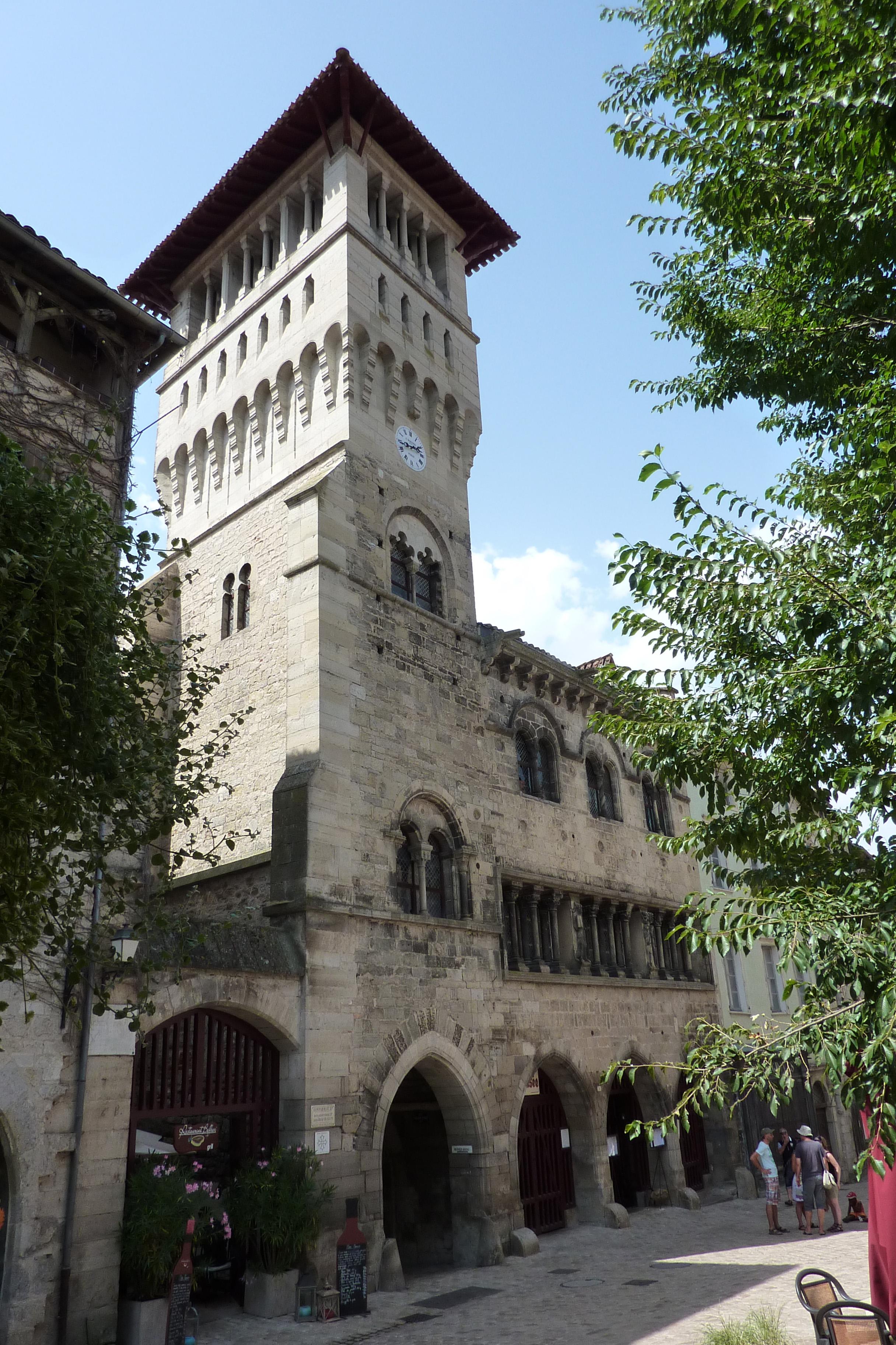 maison dite du roy (xiiie siècle) à saint-antonin-noble-val, tarn