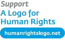 English: Support a Logo for Human Rights