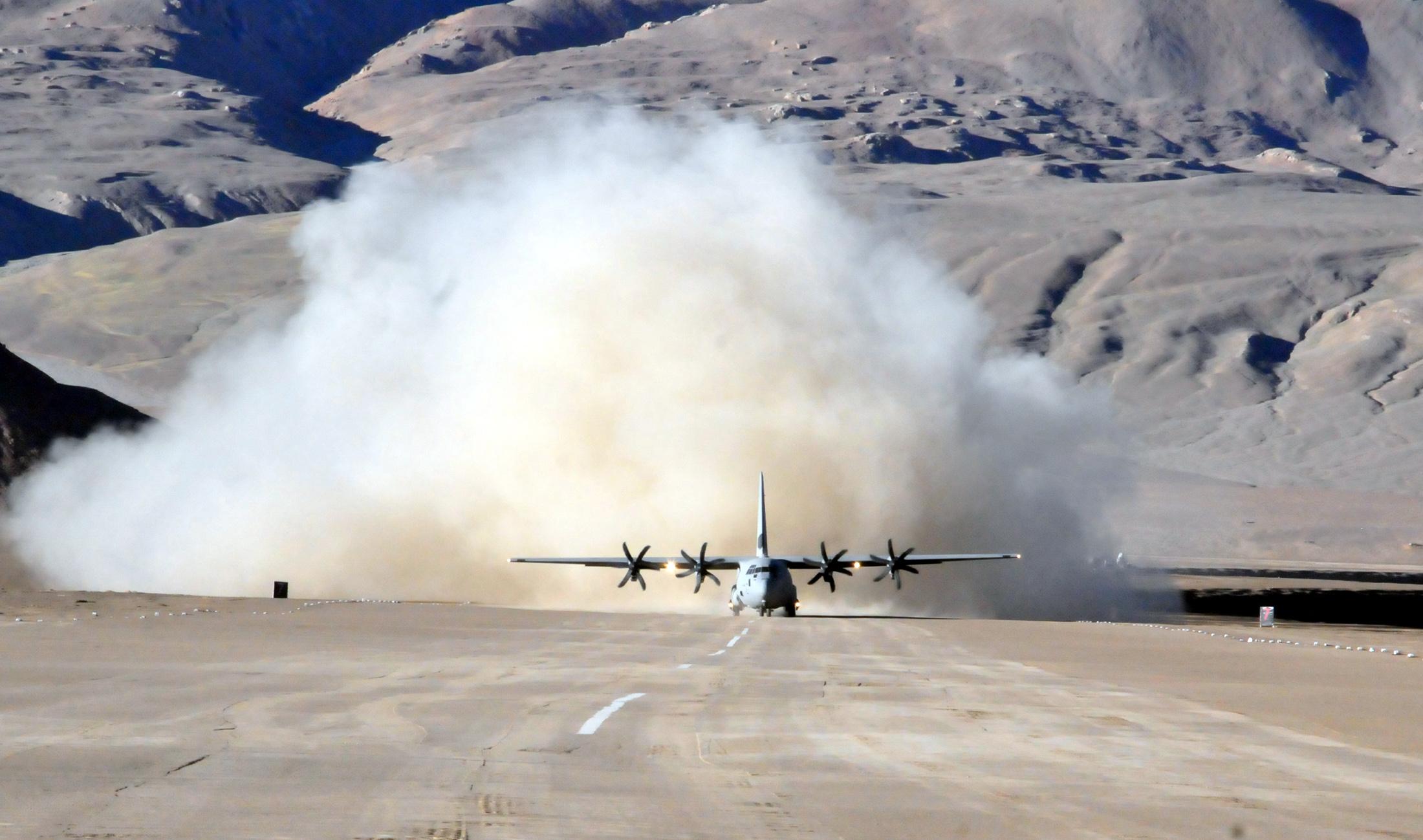 File Iaf C 130j Super Hercules At Daulat Beg Oldie Jpg