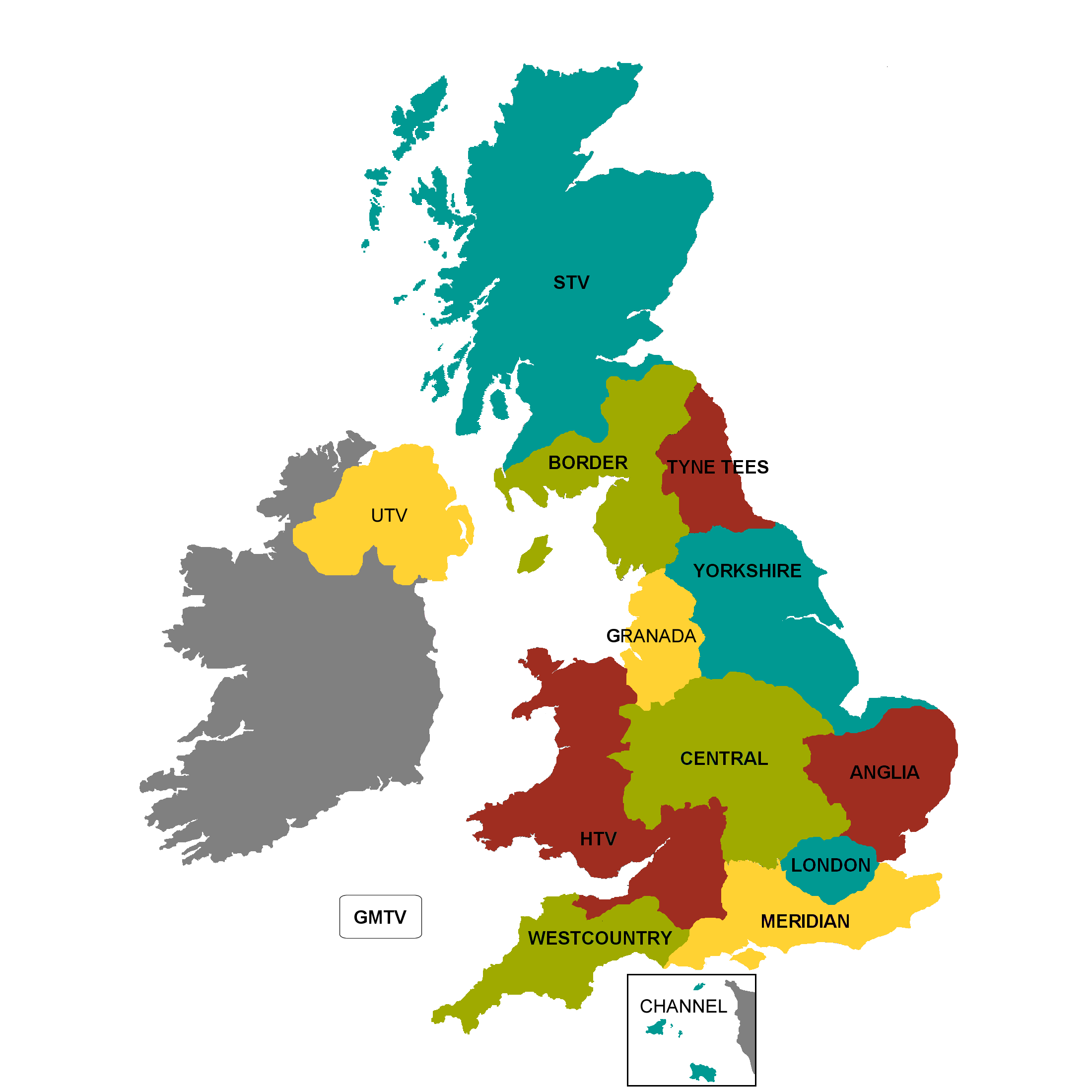 Itv Regions Map File:ITV regions map2.png   Wikimedia Commons Itv Regions Map