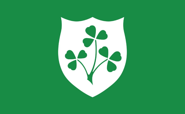 Fileirish Rugby Flagg Wikimedia Commons