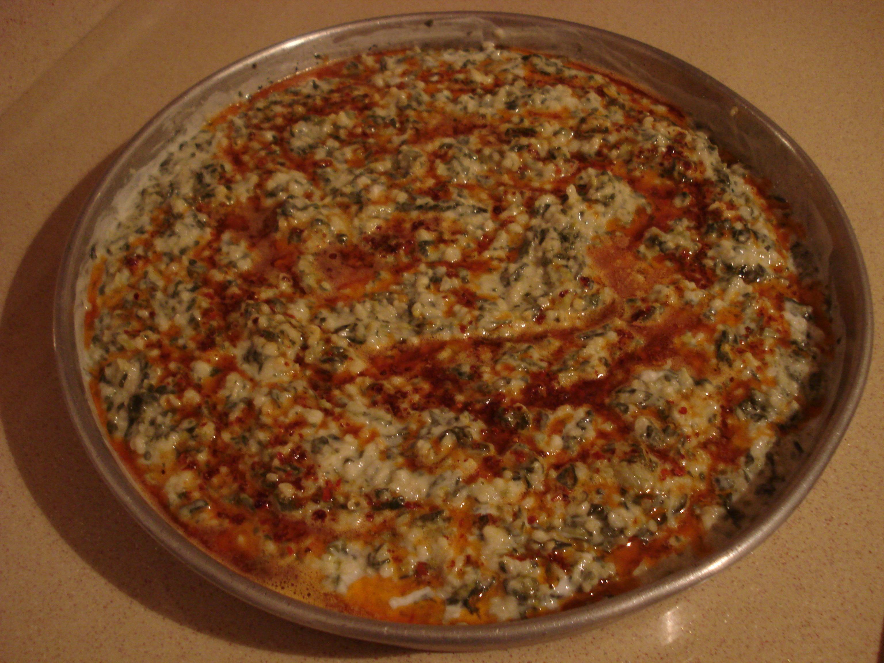 borani ispanaklı borani tarifi yoghurt spinach dip borani
