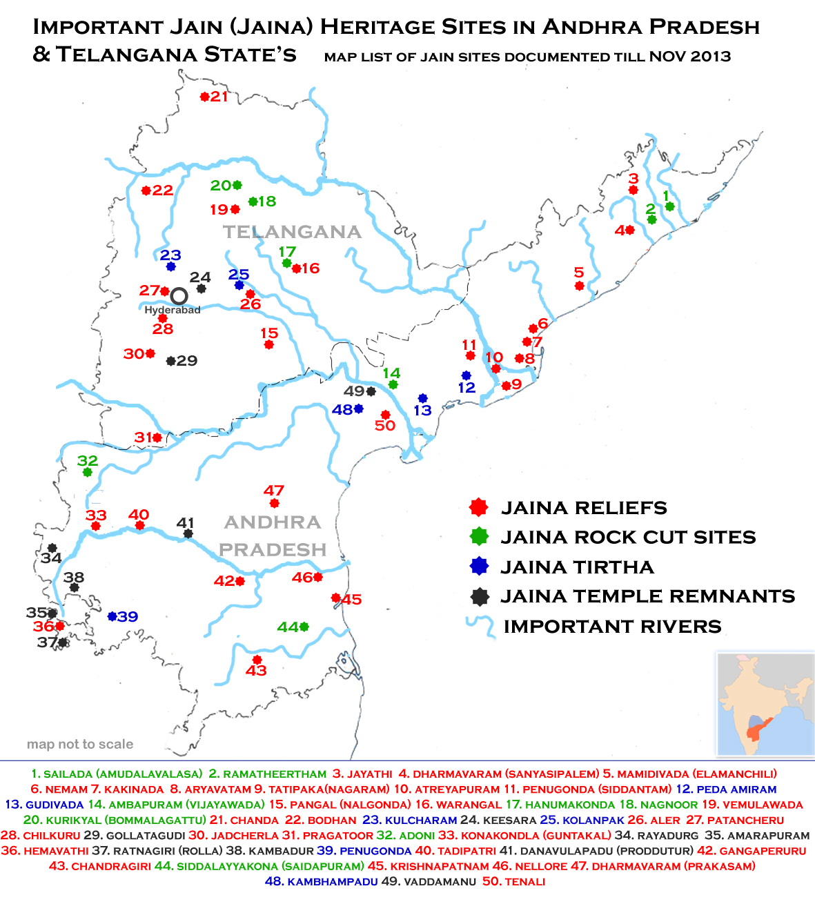 FileJain Heritage Sites Map Of Andhra Pradeshjpg Wikimedia Commons - Adoni map
