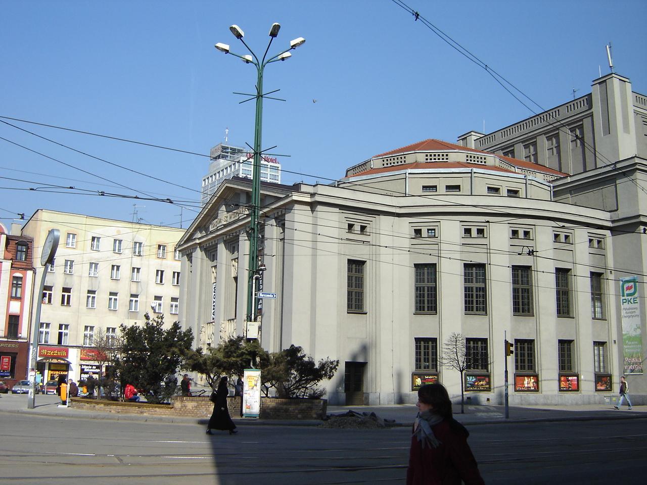 Ulica Teatralna w Katowicach